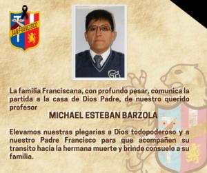 Descansa en paz querido profesor Michael