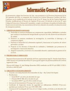 Información General 2021